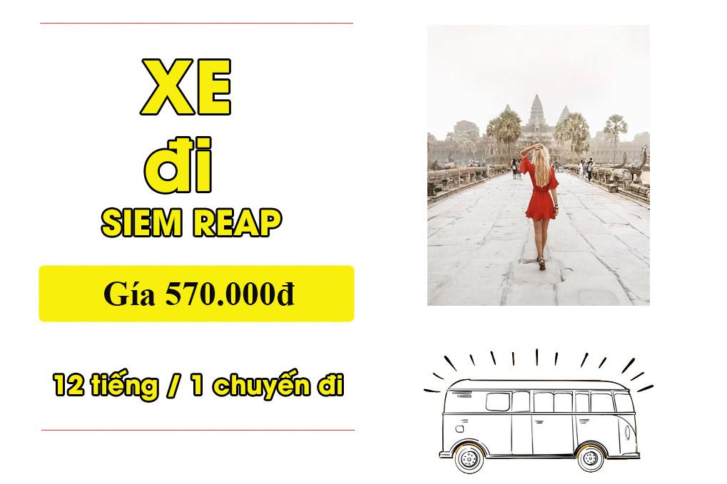 Xe từ Sài Gòn đi Campuchia chất lượng cao tại Tp.HCM