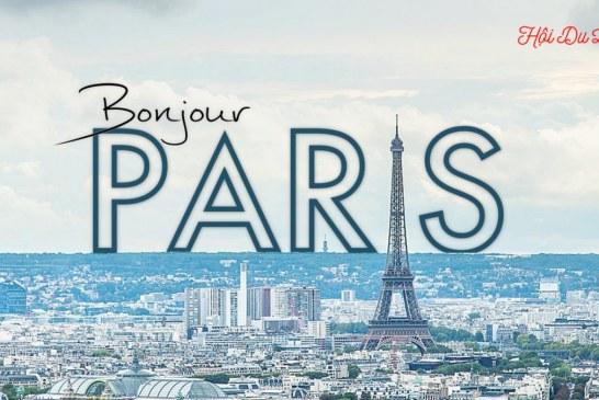 Du lịch Paris cùng hội du lịch
