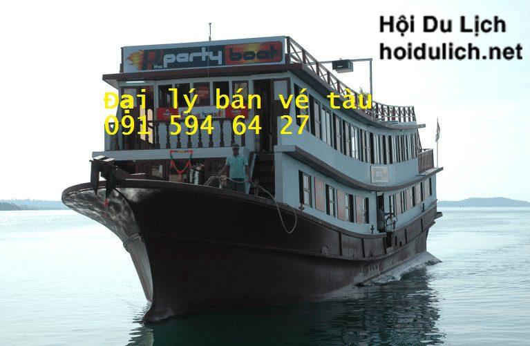 Vé tàu đi đảo Kohrong - sihanouk Ville