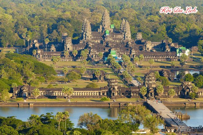 Giá vé vào Angkor Wat