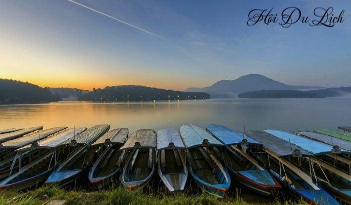 Du lịch Đà Lạt lễ 30 tháng 4 – Hồ Tuyền Lâm