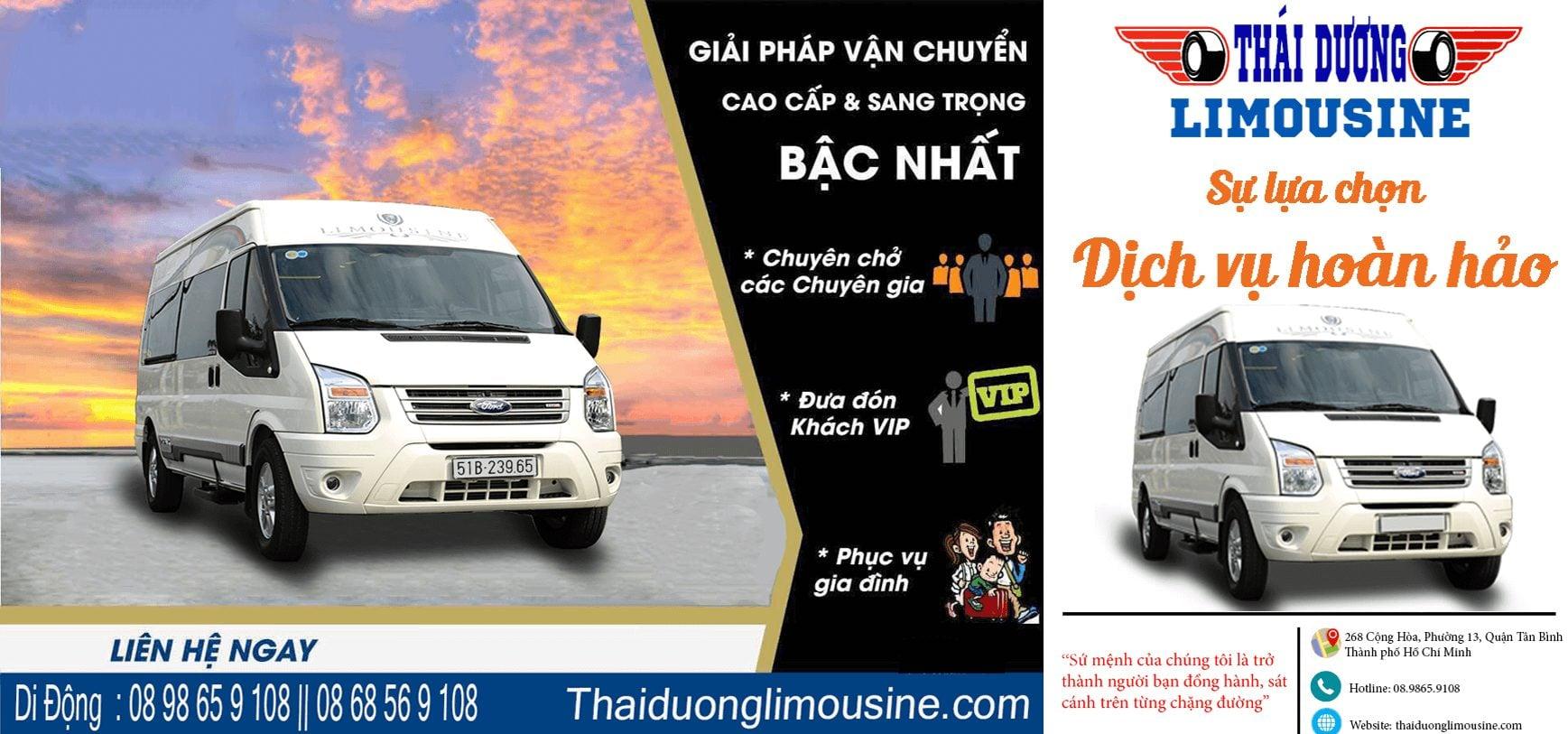 Thái Dương Limousine SG - DL