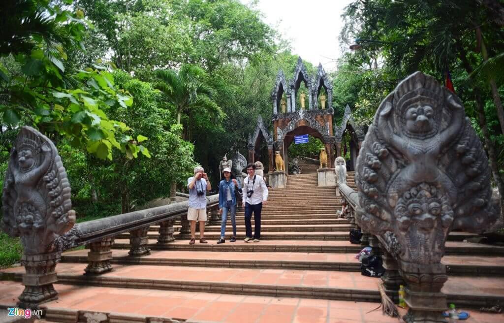 Thánh địa Kulen - du lịch Campuchia