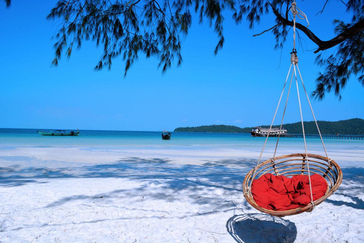 Các địa điểm tham quan ở Sihanoukville - Koh Rong Samloem beach