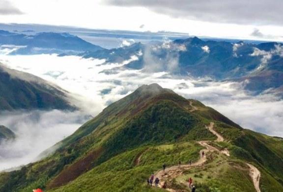 Săn mây tại Tà Xùa – 'Sống Lưng Khủng Long'