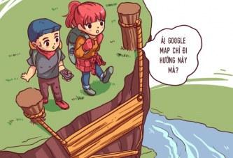 Phượt thủ nào tin Google Map khi đi phượt chưa ?