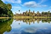 Chụp ngôi đền Angkor Wat huyền ảo cùng một góc máy