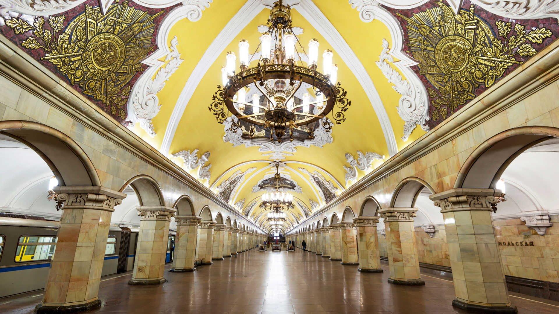Hệ thống tàu điện ngầm sạch nhất thế giới