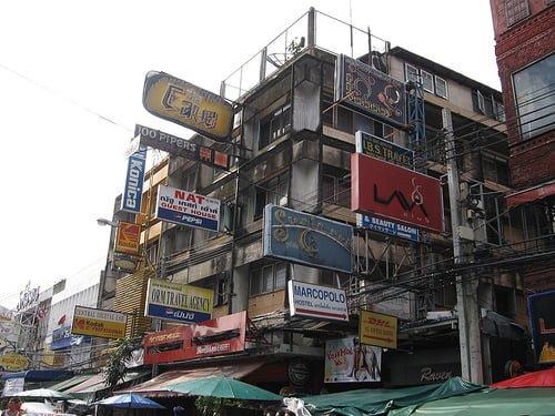 Hostel tại Khu Khao San