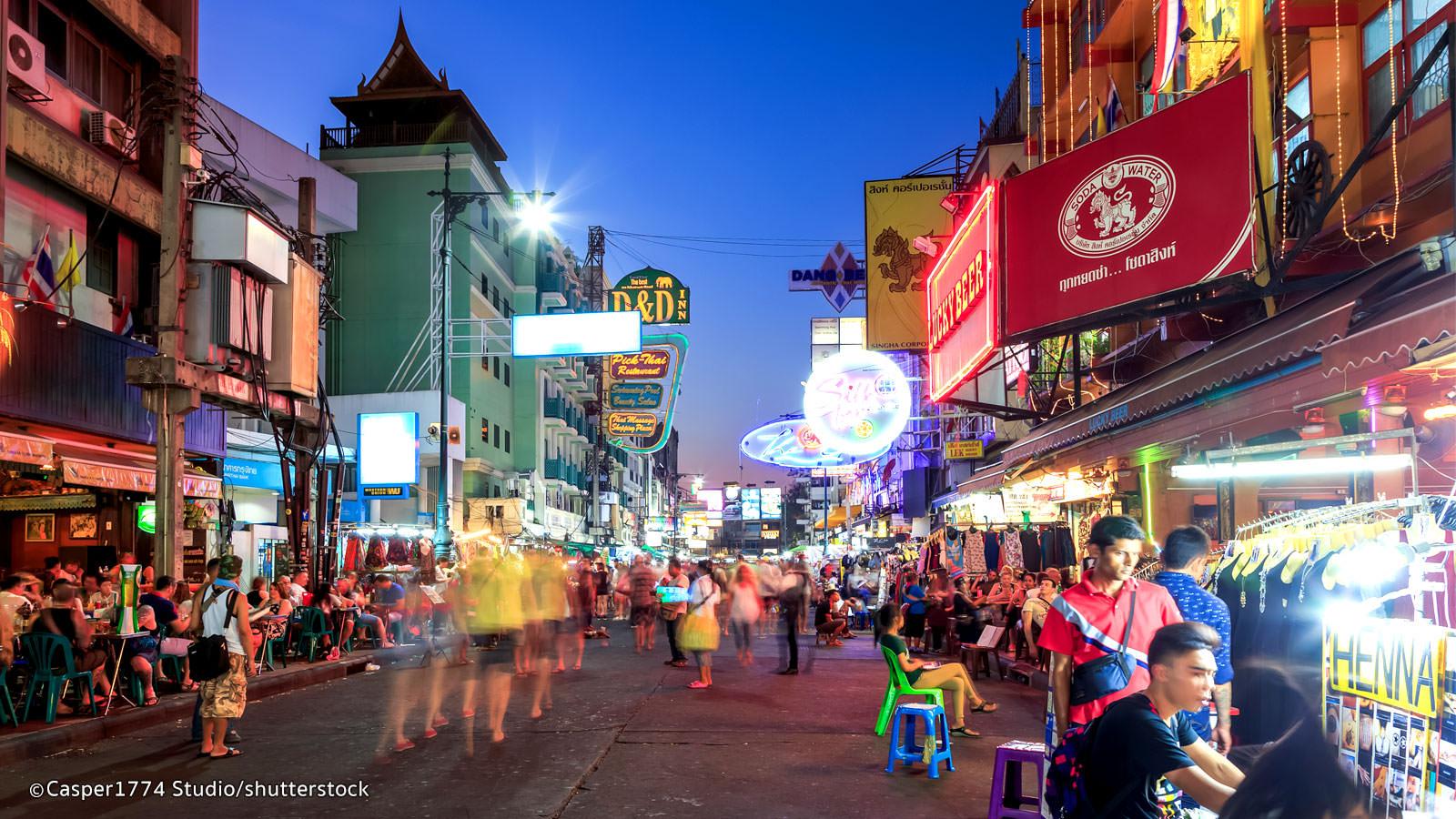 khu Khao San Bangkok