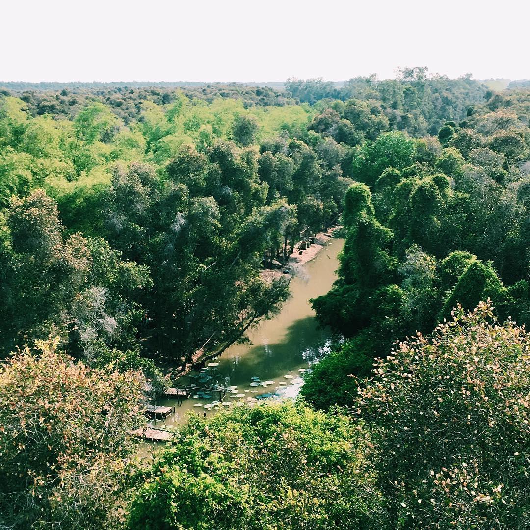 khu du lịch sinh thái gần Sài Gòn