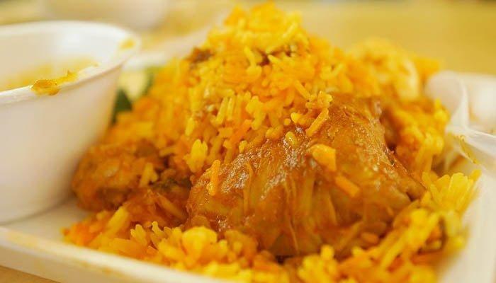 Cơm Cari tại Little India