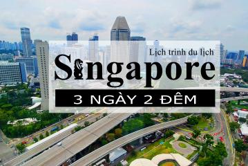 Review du lịch Singapore tự túc tháng 9