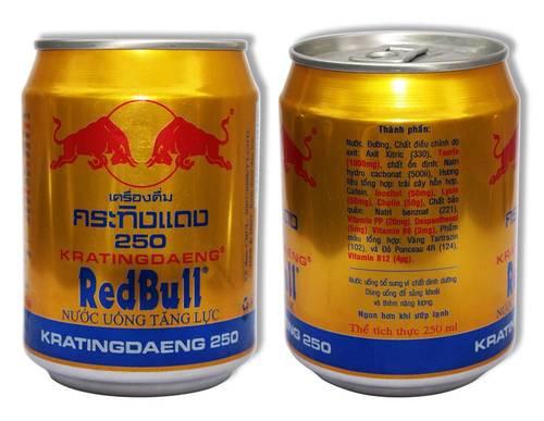 Thức Uống RedBull được xuất xứ từ Thái Lan