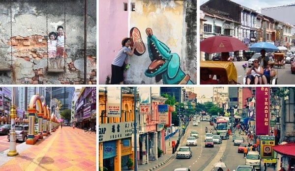 Khám phá trung tâm văn hóa của Penang
