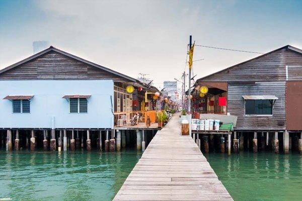 Làng nổi Jetties Clan - du lịch Penang