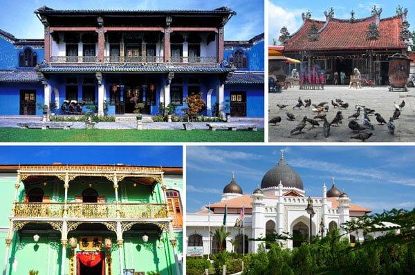 Khám phá bảo tàng và các ngôi nhà cổ khi du lịch Penang