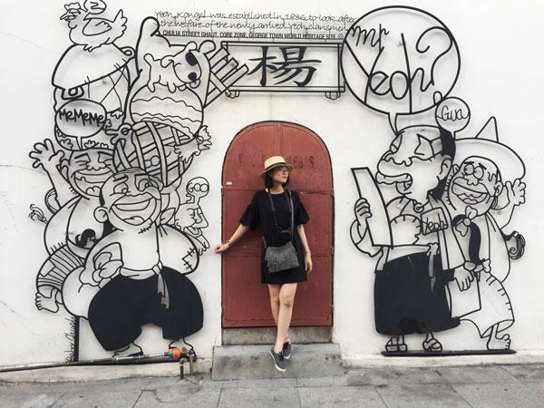 Du lịch Penang Street Art