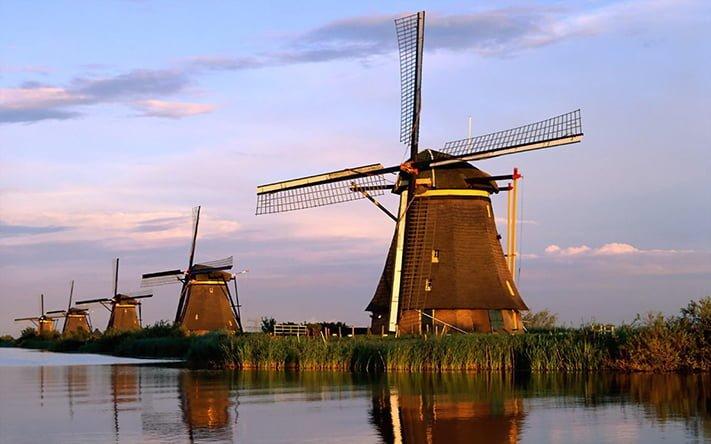Hà Lan là đất nước xinh đẹp hàng đầu thế giới