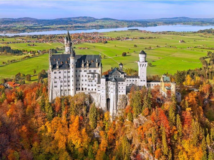 Lâu đài Neuschwanstein (Đức)