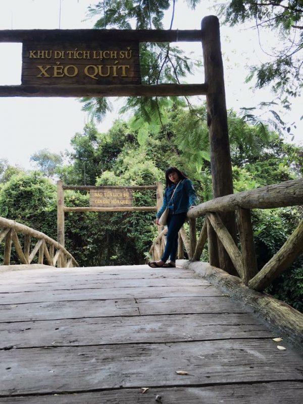 Khu di tích và du lịch sinh thái Xẻo Quýt