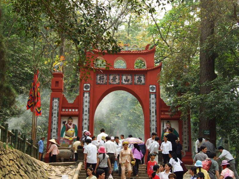Đền Hùng ở Phú Thọ ( ảnh sưu tầm internet)