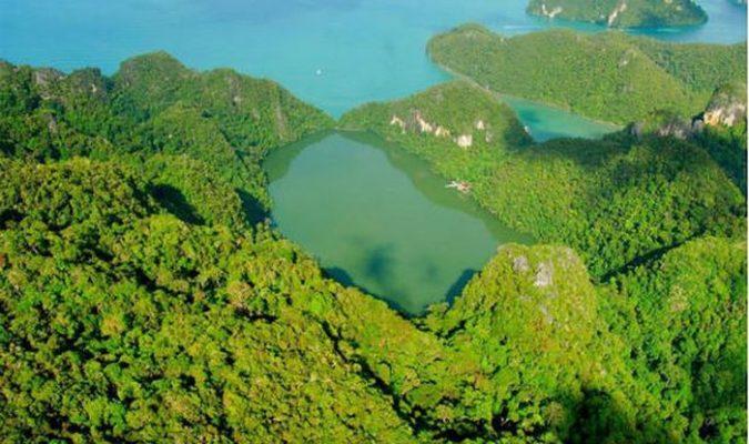 Hồ nước ngọt Pregnant Maiden - ảnh internet