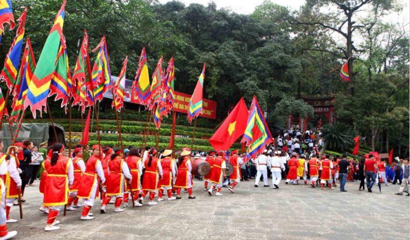 Khu di tích Đền Hùng ở Phú Thọ ( ảnh sưu tầm)
