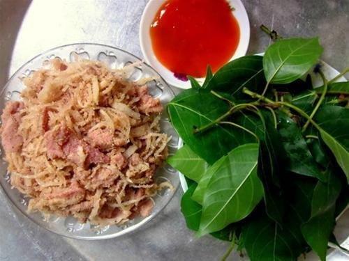 Thịt chua Phú Thọ - món ngon bạn nên thưởng thức (ảnh sưu tầm)