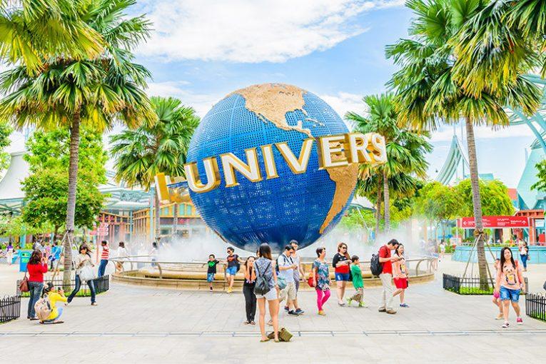 Chơi gì ở Universal Studios Singapore