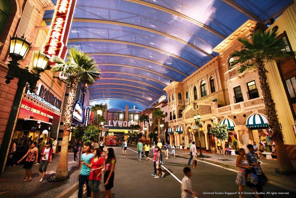 Chơi gì ở Universal Studios Singapore – USS ?