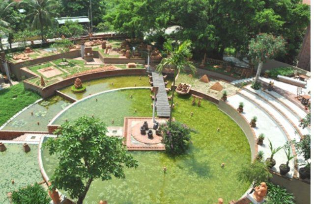 Công viên bảo tàng đất nung Thanh Hà nổi bật thiết kế đẹp (ảnh internet)
