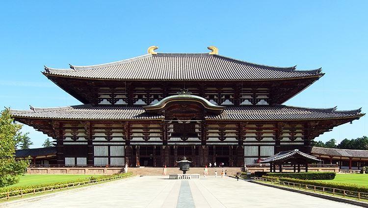 Tham quan ngôi đền Todai-ji cổ xưa của Nhật Bản