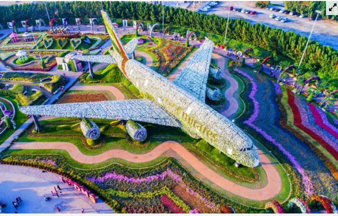 vườn hoa rộng và đẹp nhất thế giới