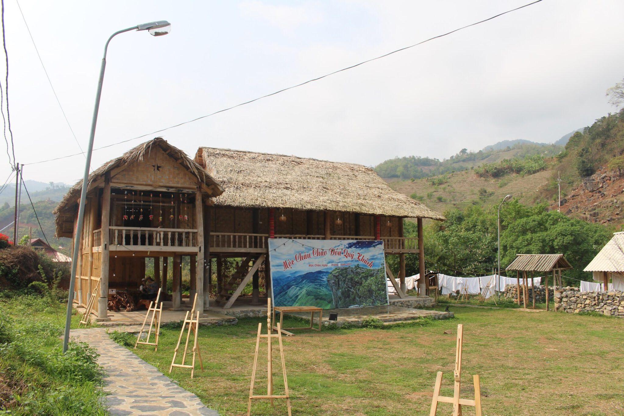 Homestay tại Happly Land - Mộc Châu