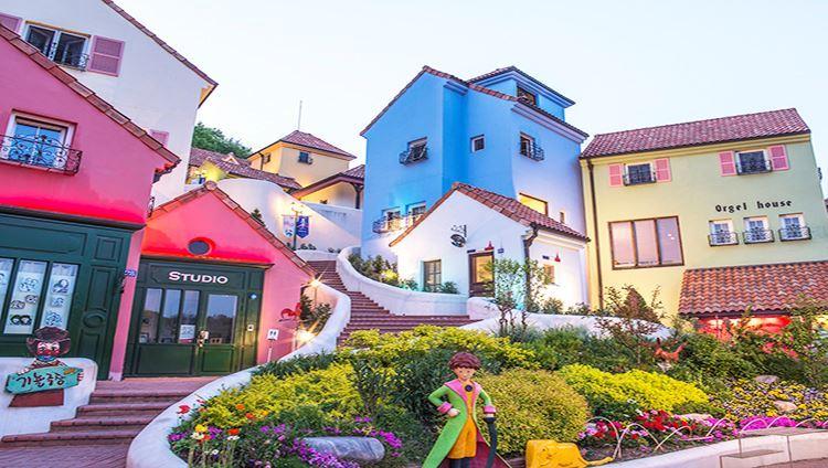 Ngôi làng Pháp xinh xắn thu nhỏ (ảnh internet)