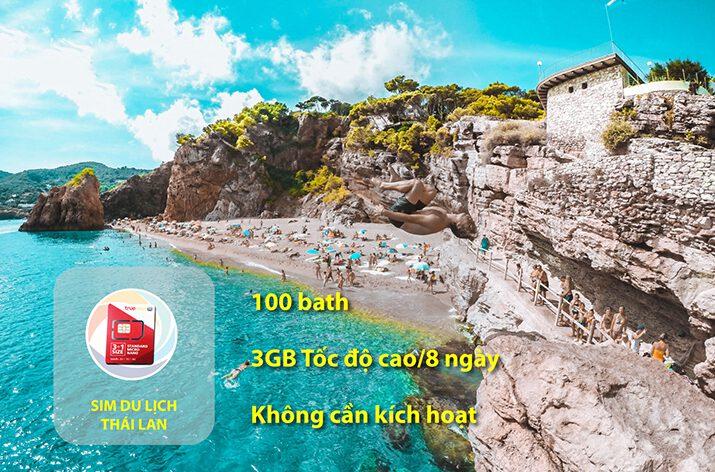 Kinh nghiệm mua sim 3G/4G khi du lịch Thái Lan