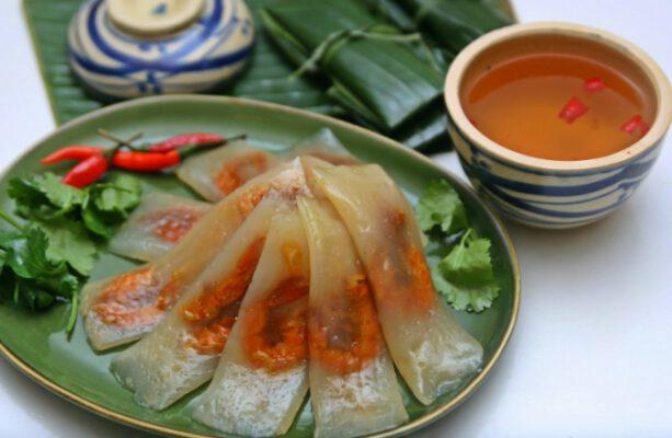 Bánh bột lọc ngon nổi tiếng ở Huế (ảnh internet)