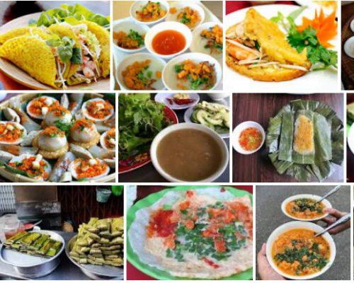 Các loại bánh truyền thống ở Huế