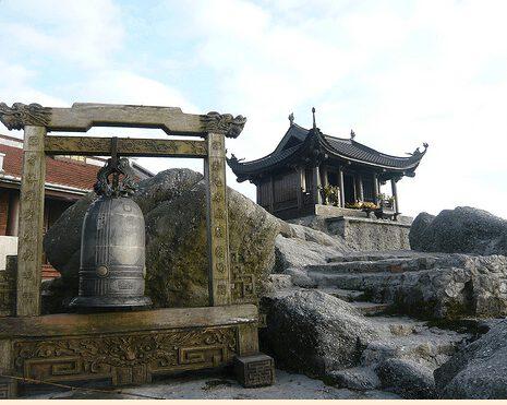Chùa Đồng trên núi Yên Tử (ảnh internet)