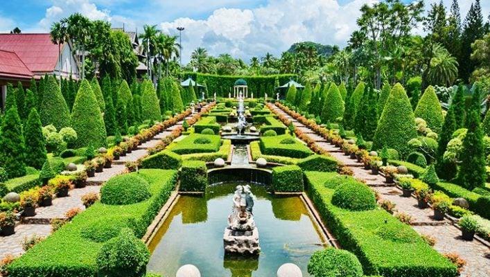 Khu vườn mang phong cách Châu Âu (ảnh internet)