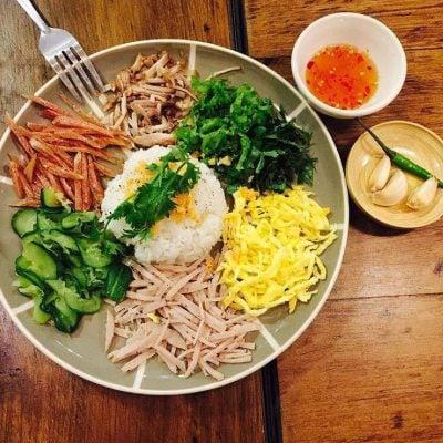 Món cơm âm phủ ở Huế (ảnh internet)