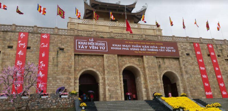 Tây Yên Tử điểm đến hấp dẫn (ảnh Phong Lan)