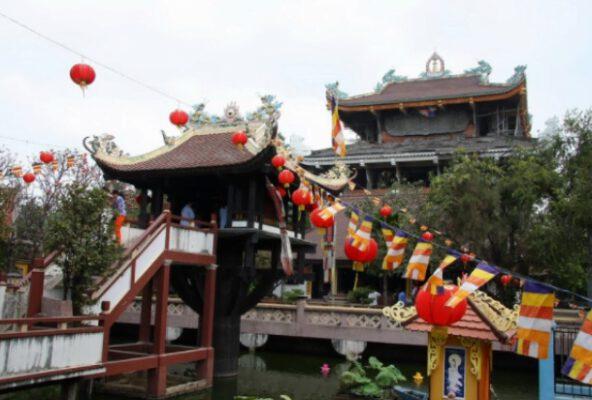 chùa Nam Thiên Đệ Nhất Trụ (ảnh internet)