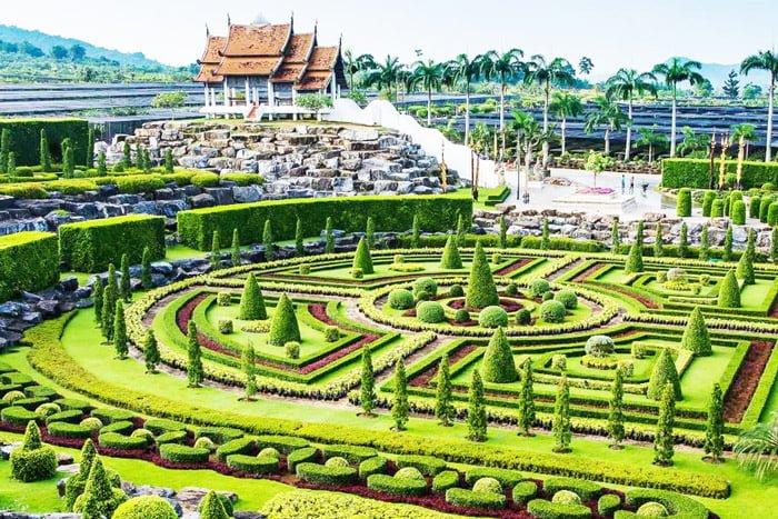 Vườn Nong Nooch Thái Lan- khu vườn bách thảo lớn và đẹp nhất Đông Nam Á
