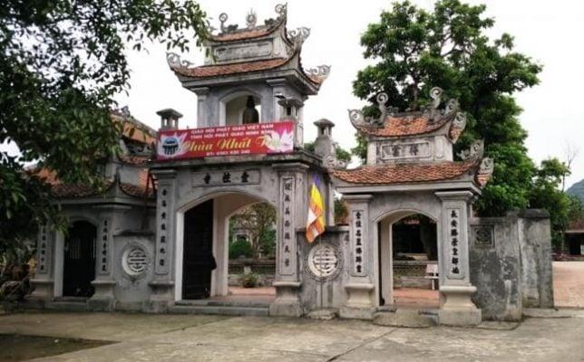 Chùa Nhât Nhất Trụ ở Ninh Bình (ảnh internet