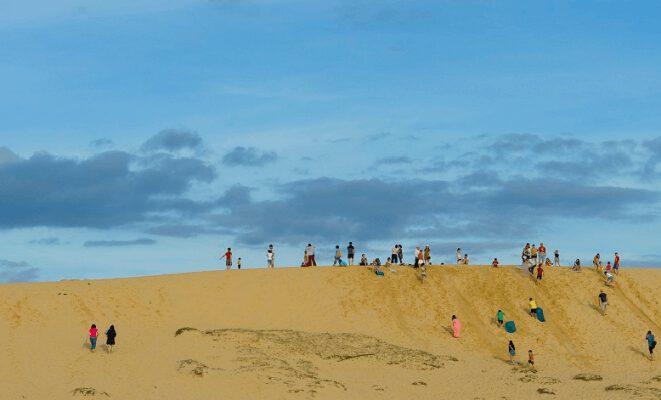 Cồn cát Quang Phú điểm du lịch độc và lạ (ảnh internet)
