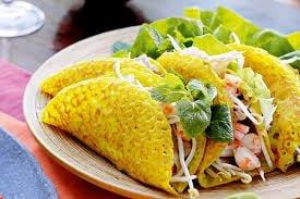 Đặc sản bánh xèo nổi tiếng của Quảng Bình