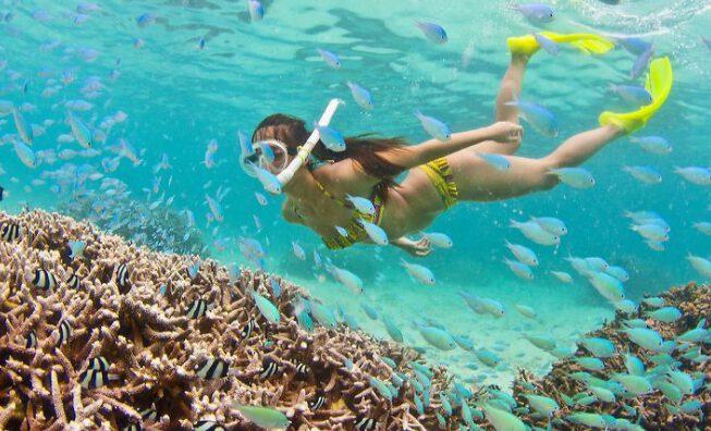 Khám phá biển Hòn Thơm Phú Quốc tuyệt đẹp (ảnh internet)