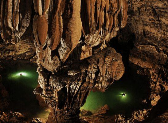 Khám phá vẻ đẹp của hang động Tú Làn (ảnh internet)